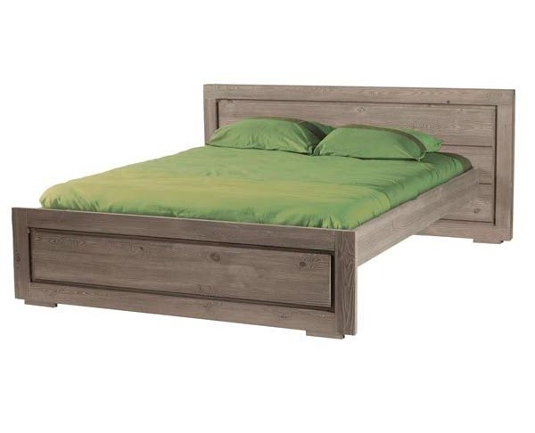 Bed temli 160 for matress 160x200 wood stone for Sofa bed 160 x 200