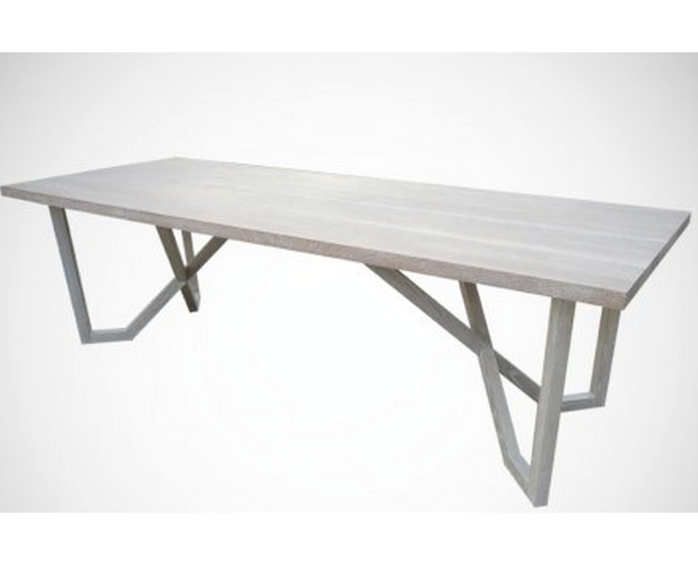 Dining Table Beam Wood Stone