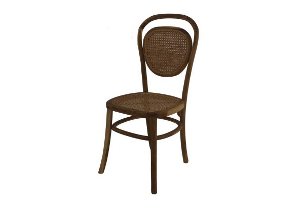 C1464 - B177 CHAIR TEAK OLVIO 49x45x95