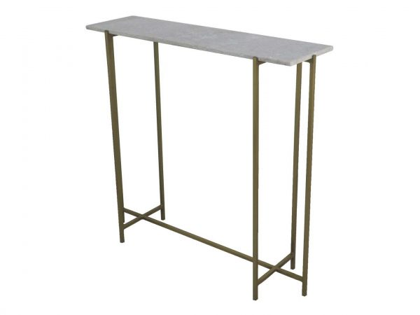 D1474W - I17 CONSOLE MARBLE TOP 86x24x82
