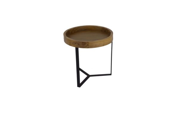T1027.1N - B172 SIDE TABLE ANTIPAROS F51 H43