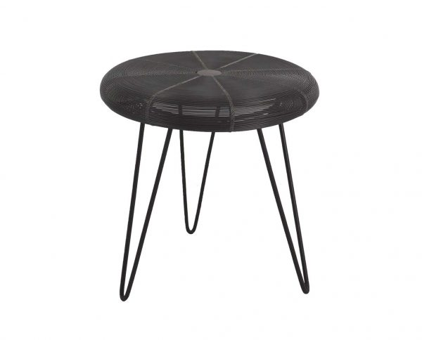 T1440 - I17 SIDE TABLE JALI IRON F45 H45